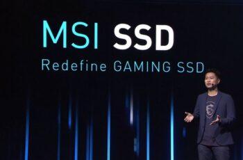 MSI  аносираха своите първи SSD дискове