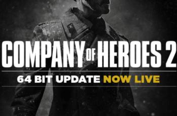 Company of Heroes 2 най-накрая получи 64 битова поддръжка